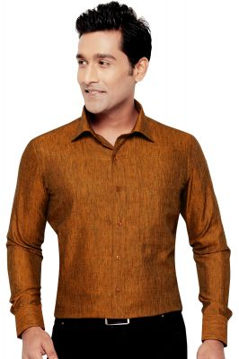 Buy Tunica Party Wear Shirt Orange By Corporate Club online