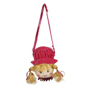 Buy Princess Sling Bag - Red & Golden - By Lovely Toys online
