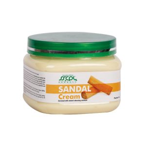 Buy Sscpl Herbals Sandal Massage Cream (150gm)( Code - Mc_sand_08 ) online