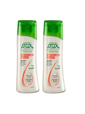 Buy Sscpl Herbalssparino Nutritional Gloss Shampoo - Pack Of 2 (each 100ml)( Code -shampoo_sng_02 ) online