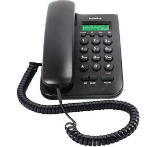 Buy Corded Landline Phone With Cli Black By Binatone online