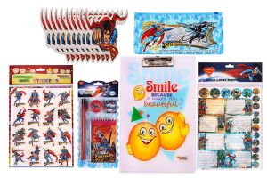 Buy Superman Combo 399 Multicolour (pack Of 1) By Sticker Bazaar online
