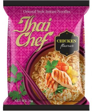 Buy Thai Chef Inst Noodles Chicken 70Gms Each - Pack of 5 Units online