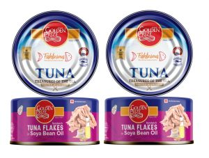 Buy Golden Prize Tuna Sandwich Flakes in Soyabean Oil 185 Gms Each - Pack of 2 Units online