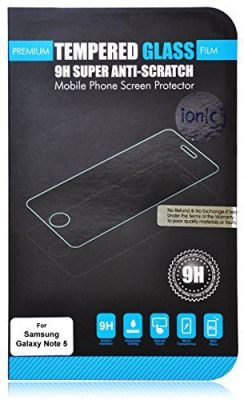 Buy Ionic Pro Ionic Samsung Galaxy Note 5 Screen Protector Film Tempered Glass 2015 Smartphone online