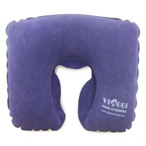 Buy Viaggi Blue Inflatable C Shape Travel Neck Pillow - ( Code - Via0051 ) online
