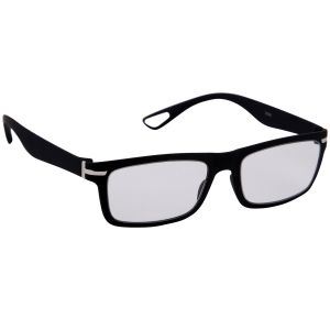 4110d8b7410ce Buy Petrol Black Wayfarer Sunglasses(clear) Online