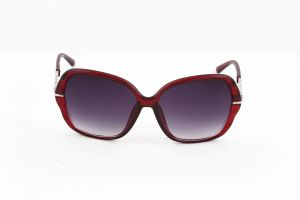Buy Petrol Red Bug Eye Sunglasses For Women online