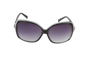 Buy Petrol Black Bug Eye Sunglasses For Women online