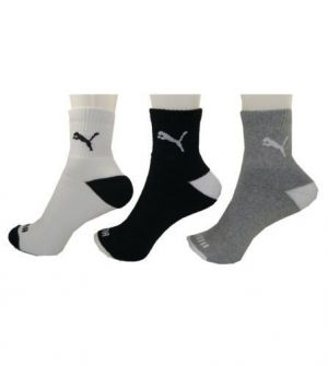 Buy Puma Pack Of 3 Socks online