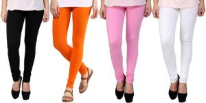 Buy Stylobby Set Of 4 Cotton Lycra Legging online