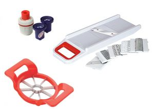 Buy Vegetable Slicer, Apple Cutter And Water Purifier - Ultimate Health Kitchen Combo online