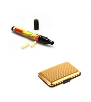 Buy Car Scratch Remover Scratch Filler Pen With Golden Aluma Wallet online