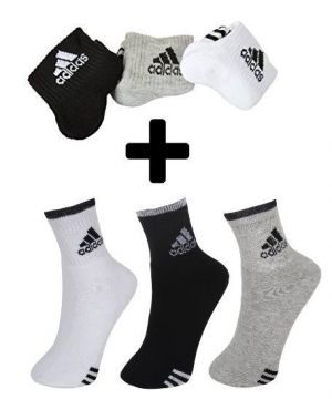Buy Buy 3 Pair Adidas Socks Get 3 Pair Adidas Socks Free online
