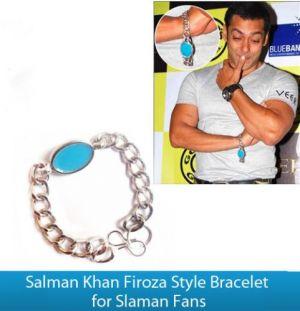 Buy Bracelet Salman Khan Firoza Style Bracelet Men Bracelet Online