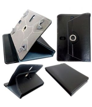 Buy Universal Flip Cover 7 Inches For All Tablets Of 7 Inches Black online