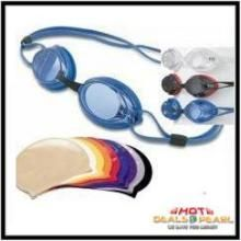 Buy Swimming Goggles With Swimming Cap online