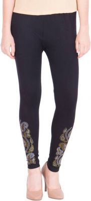 Buy Women Party Wear, Ladies Legging Black online