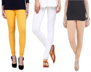 Buy Stylobby Set Of 3 Cotton Lycra Legging online