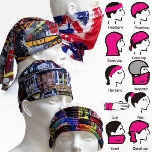 Buy Bikers Multi Purpose Face Mask Bandana Scarf 4 PCs Lot Balaclava Cap online