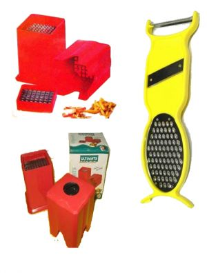 Buy A Potato Cutter For French Fries With 4 In 1 Multipurpose Kitchen Tool online