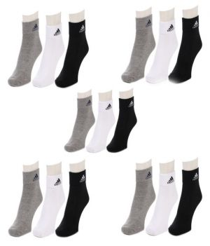 Buy Shivkirpa Beautiful Socks Pair 0f 15 online