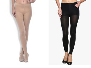 Buy Stonic New Pack Of 2 Skin & Black Women Panty House Stocking (product Code - Sokyw6) online