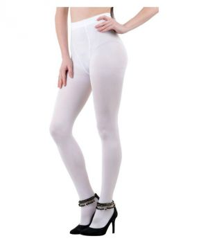 Buy Ocean White Color Full Fit Length Pantyhose Stockings Soft & Perfect Fitting (whpantyhouse) online