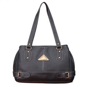 Buy Fostelo Black Swiss Handbag online