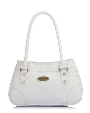 6f552959379 Buy Fostelo Women s Rachel White Handbag Online
