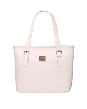 Buy Fostelo Swiss Large White Handbag online