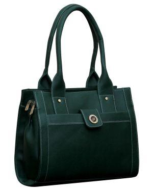 Buy Fostelo Ocean Side Green Handbag online