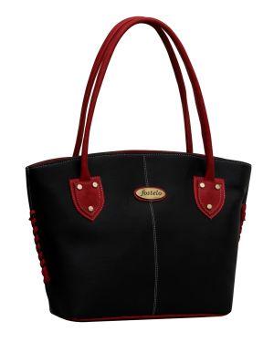 Buy Fostelo Squirrel Black Handbag online