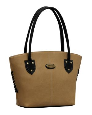 Buy Fostelo Squirrel Beige Handbag online