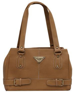 Buy Fostelo Beige Swiss Handbag online