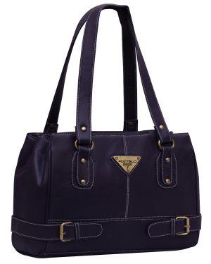 Buy Fostelo Swiss Triangle Purple Handbag online