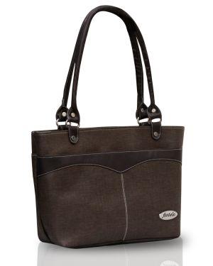 Buy Fostelo Eco Elliot Brown Handbag online