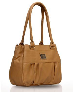 Buy Fostelo Deux Biege Handbag online