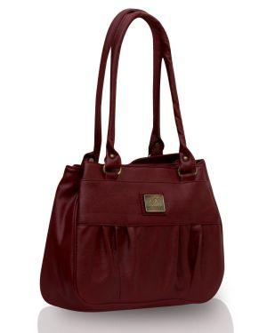 Buy Fostelo Deux Maroon Handbag online