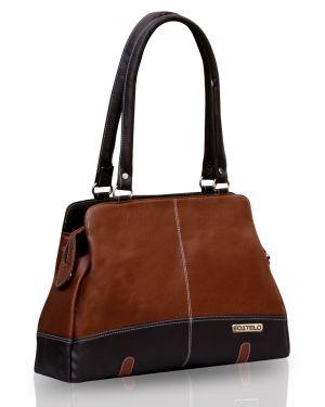 Buy Fostelo Aurielle Tan Handbag online