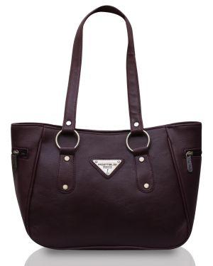 Buy Fostelo Brooke Purple Handbag online