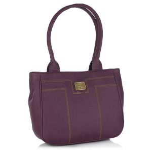 Buy Fostelo Pelican Purple Handbag online