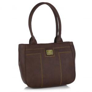Buy Fostelo Pelican Brown Handbag online