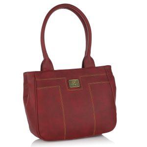 Buy Fostelo Pelican Maroon Handbag online