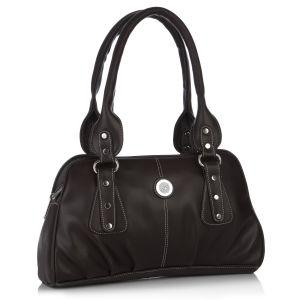 Buy Fostelo Fine Crafted Brown Handbag online