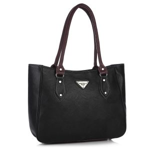 Buy Fostelo Carousel Black Handbag online