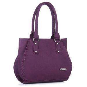 Buy Fostelo Everyday Casual Purple Handbag online