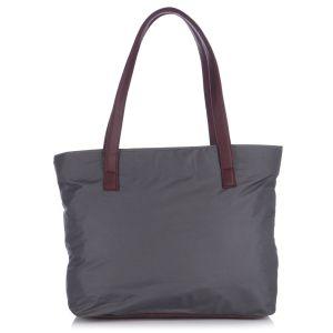 Buy Fostelo Susanne Nylon Medium Grey Handbag online