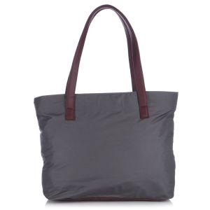 Buy Fostelo Susanne Nylon Medium Grey Handbag online