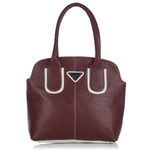 Buy Fostelo Pebble Medium Maroon Handbag online